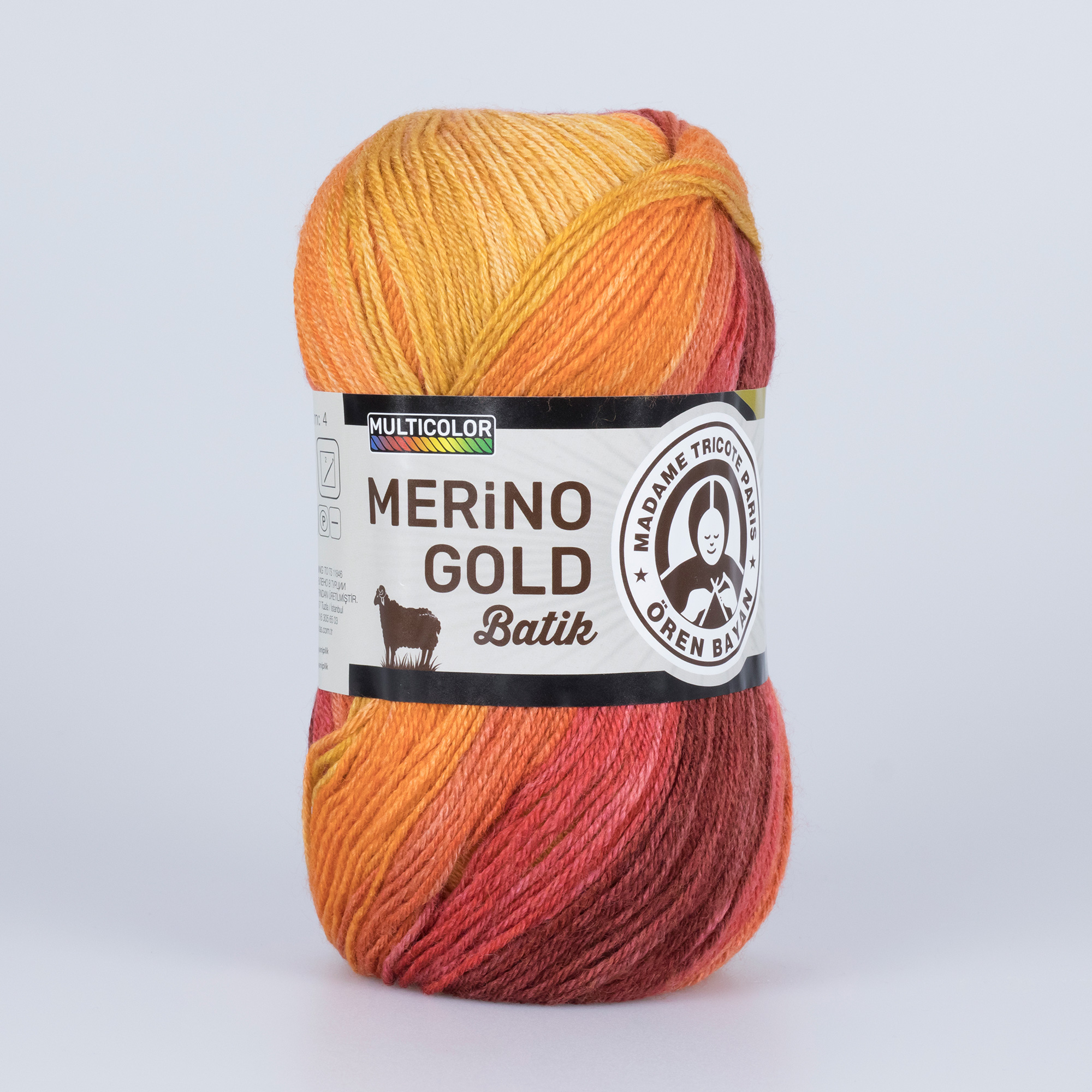 Merino Gold Batik